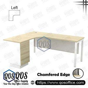 L-Shape Office Table 5'x5′ | QOS-SML-15154D