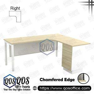 L-Shape Office Table 5'x5′ | QOS-SML-5523D