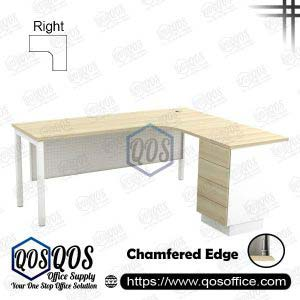 L-Shape Office Table 5'x5′ | QOS-SML-5524D