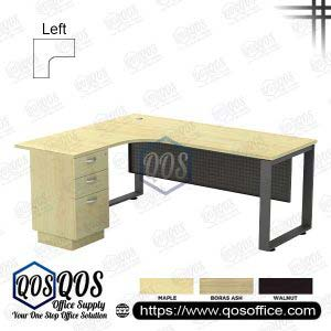 L-Shape Office Table 5'x5′ | QOS-SQML-15153D