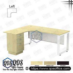 L-Shape Office Table 5'x5′ | QOS-SQML-5523D