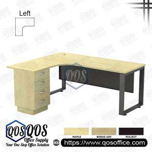 L-Shape Office Table 5'x5′ | QOS-SQML-5524D