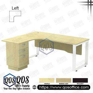 L-Shape Office Table 5'x5′ | QOS-SQWL-15153D