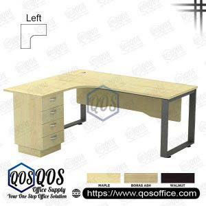 L-Shape Office Table 5'x5′ | QOS-SQWL-15154D