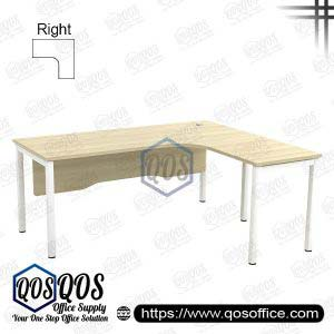 L-Shape Office Table 5'x5′ | QOS-SWL-1515