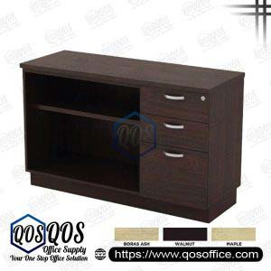 Workstation-Open-Shelf-&-Fixed-Pedestal-2D1F-QOS-Q-YOP7123