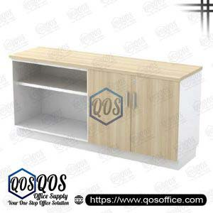 Workstation-Open-Shelf-&-Swinging-Door-Low-Cabinet-QOS-B-YOD7160