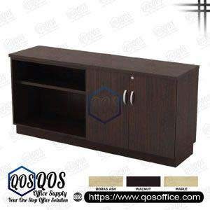 Workstation-Open-Shelf-&-Swinging-Door-Low-Cabinet-QOS-Q-YOD7160