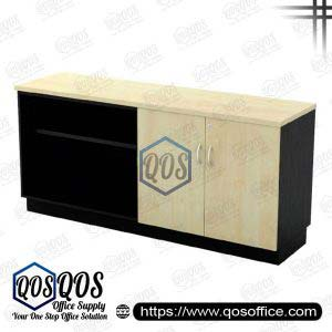 Workstation-Open-Shelf-&-Swinging-Door-Low-Cabinet-QOS-T-YOD7160