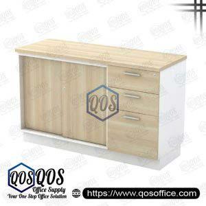 Workstation-Sliding-Door-&-Fixed-Pedestal-2D1F-QOS-B-YSP7123
