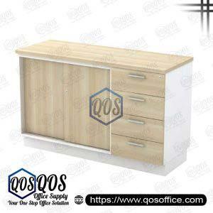 Workstation-Sliding-Door-&-Fixed-Pedestal-4D-QOS-B-YSP7124