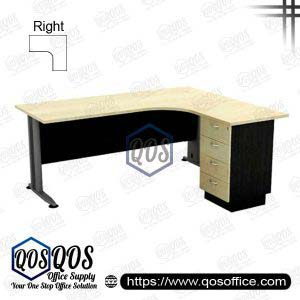 L-Shape Office Table 5'x5′ | QOS-TL-15154D
