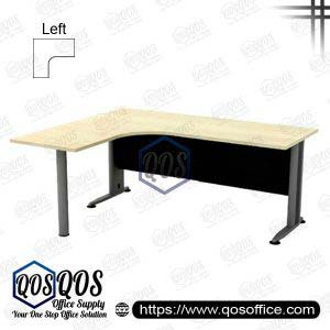 Office Table L-Shape Office Table 5'x5' QOS-TL-1515M-L Superior Compact Table