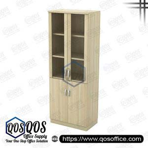Workstation-Swing-Glass-Door-High-Cabinet-QOS-Q-OGD-20