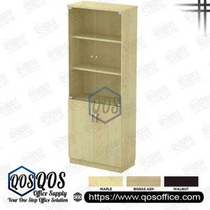 Workstation Swing Glass Door High Cabinet QOS-Q-YGD21-MP
