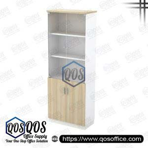 Workstation-Swinging-Glass-Door-High-Cabinet-QOS-B-YGD21