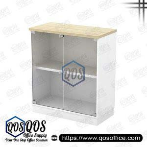 Workstation-Swinging-Glass-Door-Low-Cabinet-QOS-B-YG9