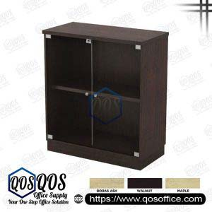 Workstation-Swinging-Glass-Door-Low-Cabinet-QOS-Q-YG9